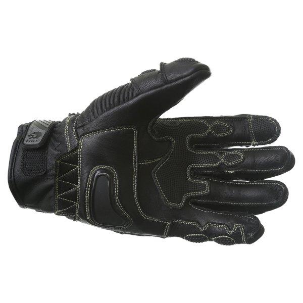 BKS Evolution Pro Short Black Motorcycle Glove Palm