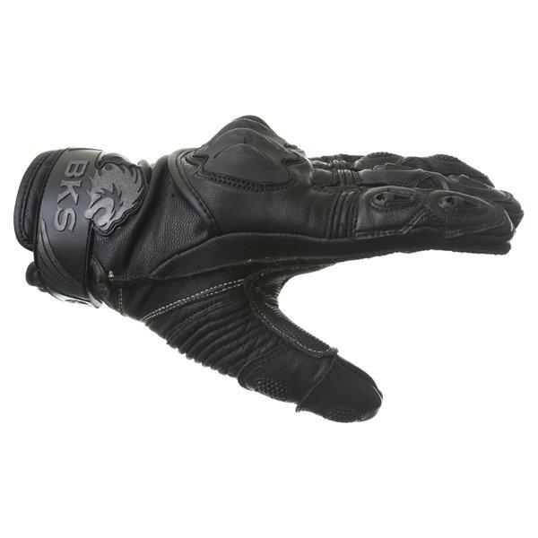 BKS Evolution Pro Short Black Motorcycle Glove Thumb side