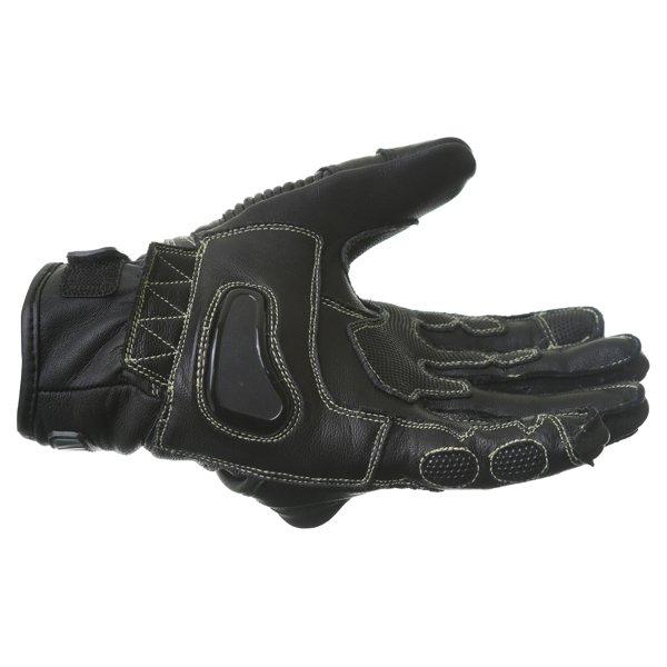 BKS Evolution Pro Short Black Motorcycle Glove Little finger side