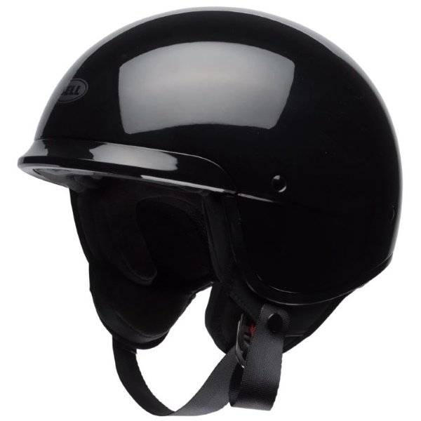 Bell Scout Air Black Open Face Motorcycle Helmet Front Left