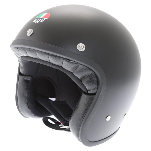 AGV X70 Matt Black Helmet Front Left