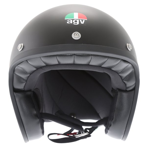 AGV X70 Matt Black Helmet Front