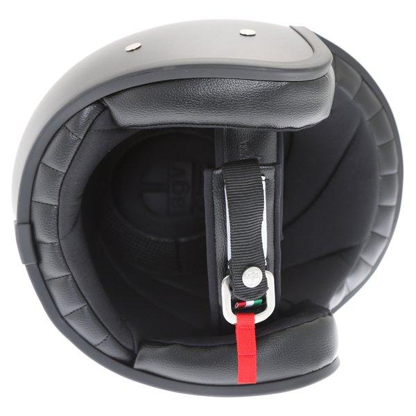 AGV X70 Matt Black Helmet Inside