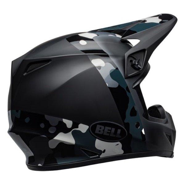 Bell MX-9 Barricade Helmet Black Size: M