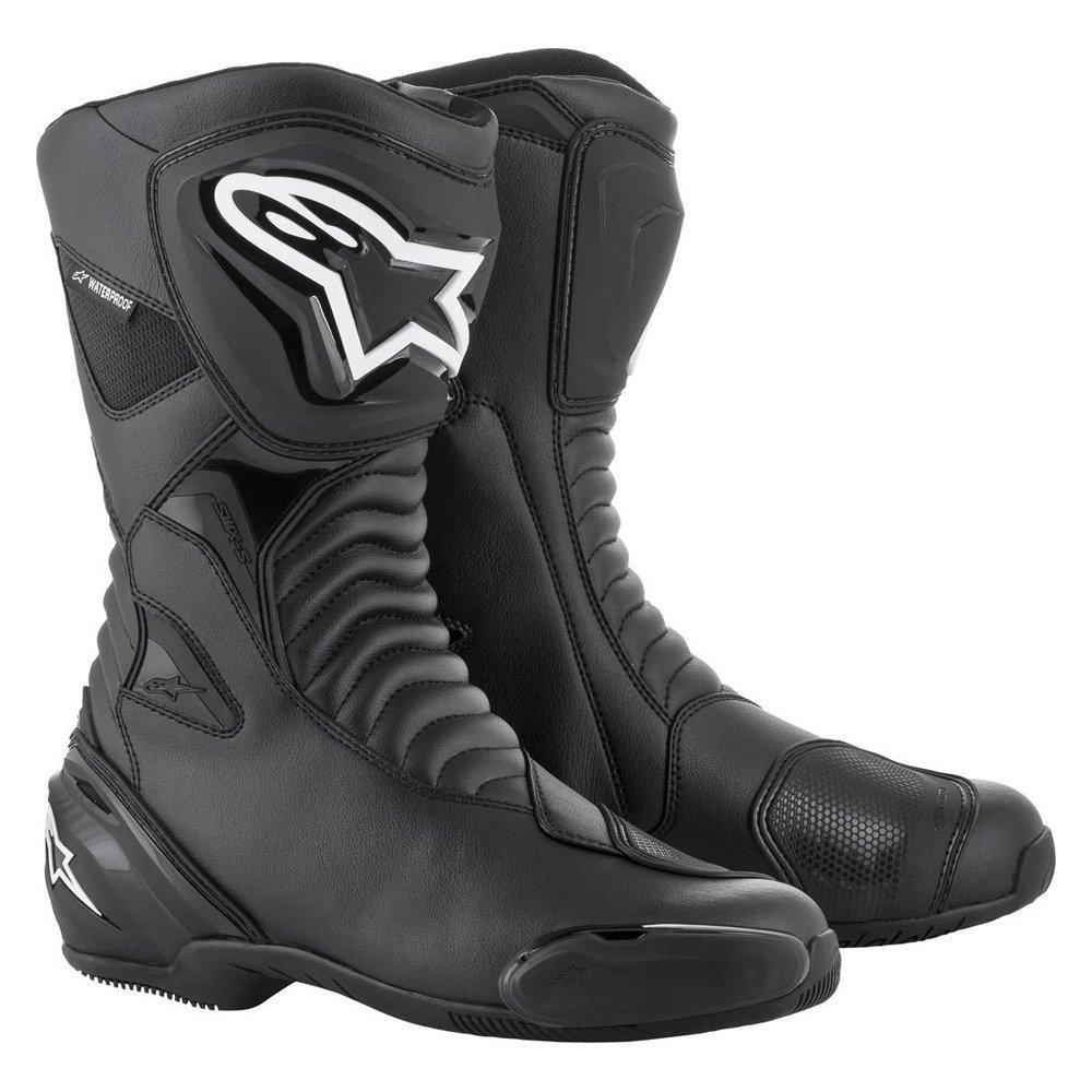 Alpinestars SMX S Waterproof Boots Black Mens - 9.5 - EU 44