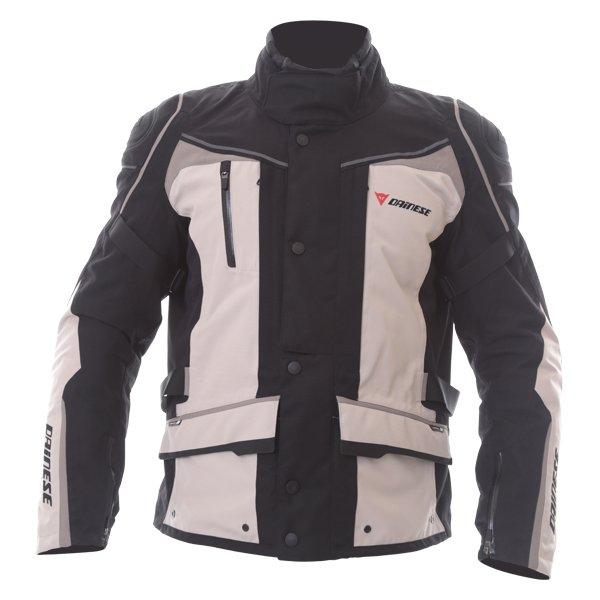 Dainese D-Blizzard D-Dry Peyote Black Brindle Waterproof Motorcycle Jacket Front