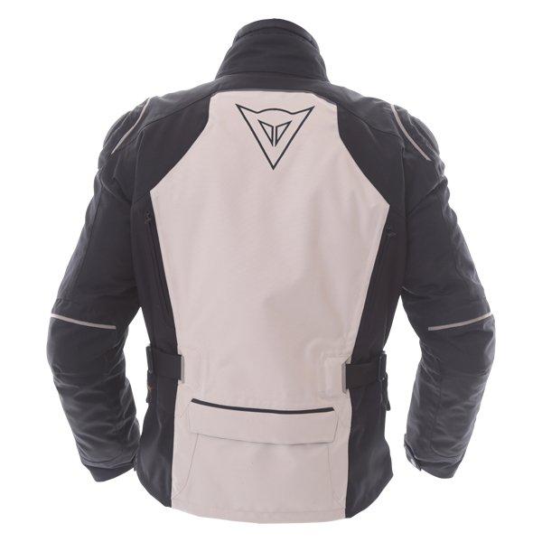 Dainese D-Blizzard D-Dry Peyote Black Brindle Waterproof Motorcycle Jacket Back