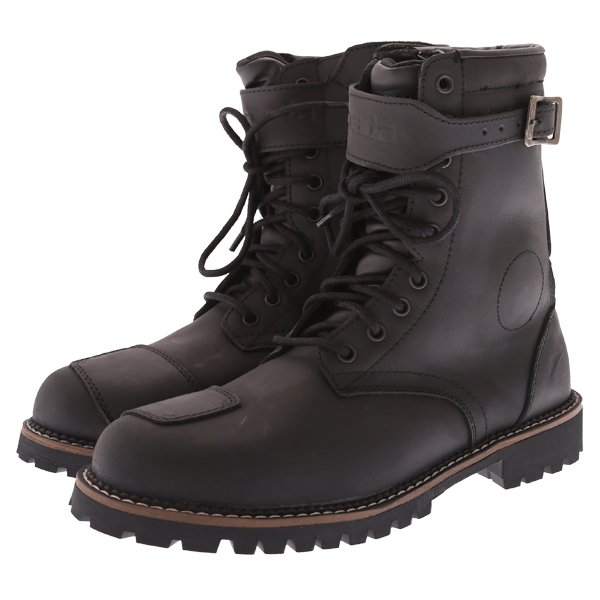 Pilgrim Grande WP Boots Distressed Black Spada Boots