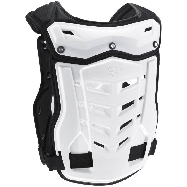 Fox Proframe White CE Back and Chest Protector Back