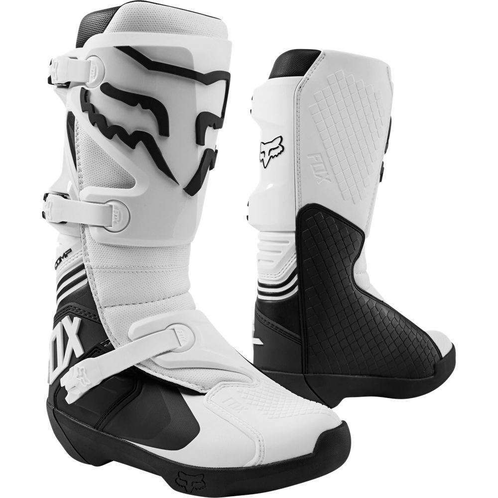 Comp Boots White Discount Motorcycle Gear