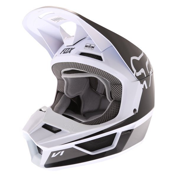 V1 Przm Helmet Black White