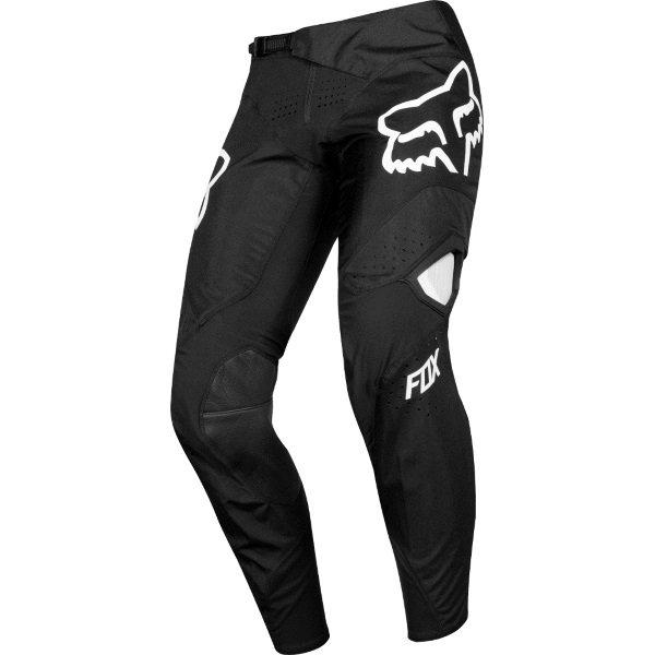 Fox 360 Kila Black Motocross Pants Front