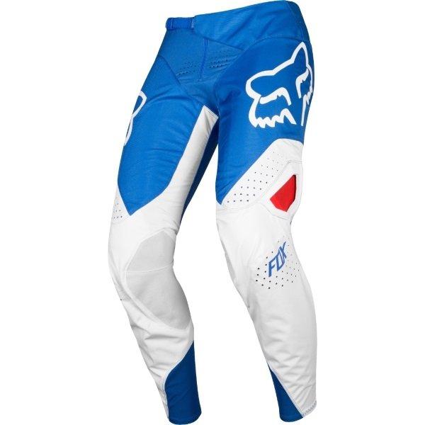 Fox 360 Kila Blue Red Motocross Pants Front