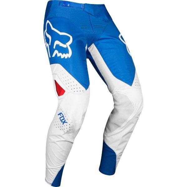 Fox 360 Kila Blue Red Motocross Pants Riding position