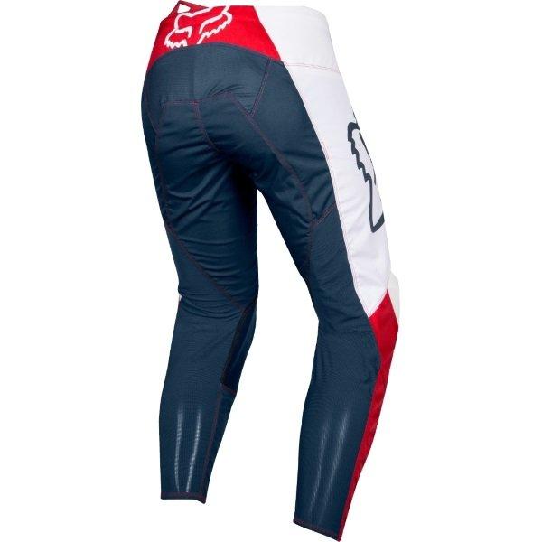 Fox 180 Przm Navy Red Motocross Pants Rear