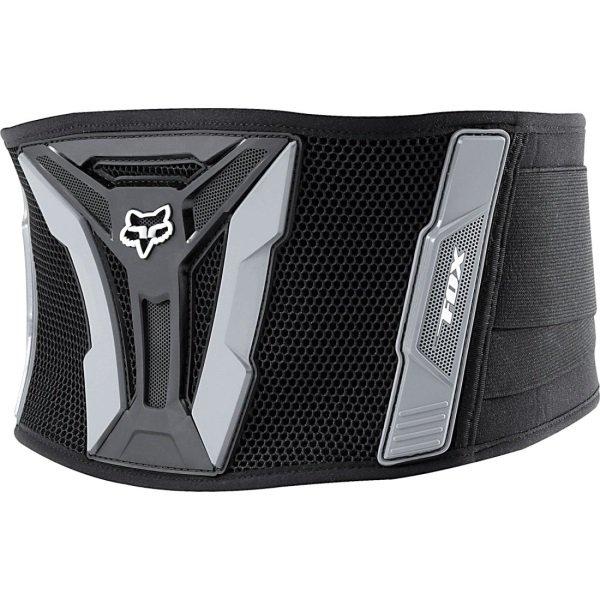 Fox Turbo XL Black Grey Kidney Belt