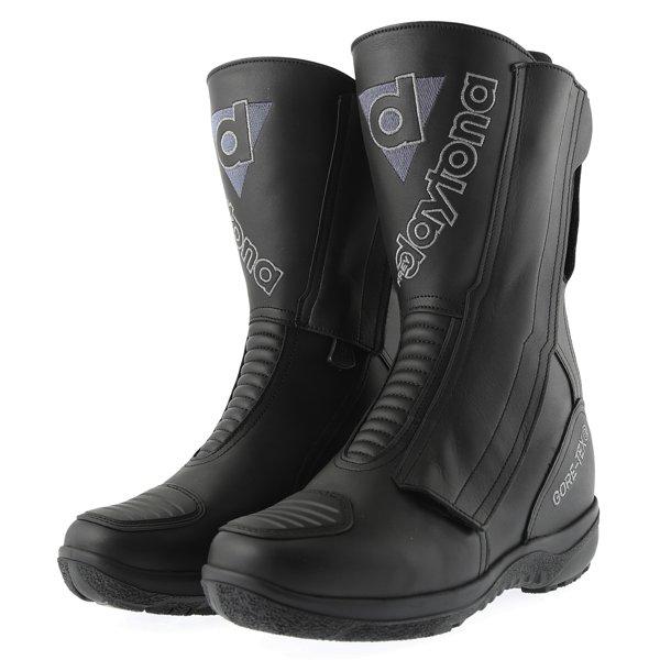 Daytona Lady Star Goretex Ladies Black Waterproof Motorcycle Boots Pair