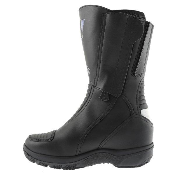 Daytona Lady Star Goretex Ladies Black Waterproof Motorcycle Boots Inside leg