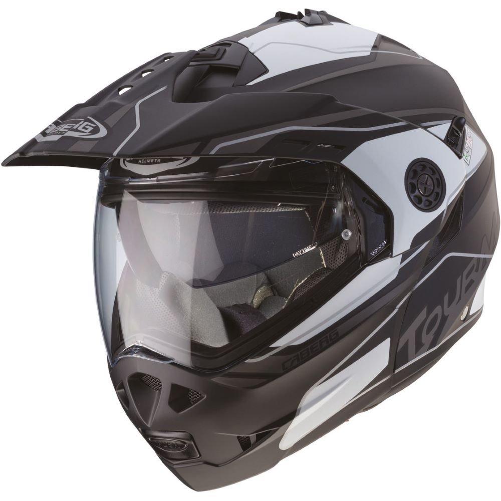 Caberg Tourmax Marathon Helmet Black White Anthracite Size: XL