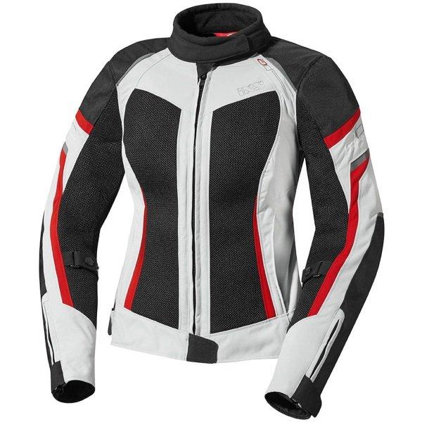 Andorra Jacket Grey Black Red Ladies Jackets