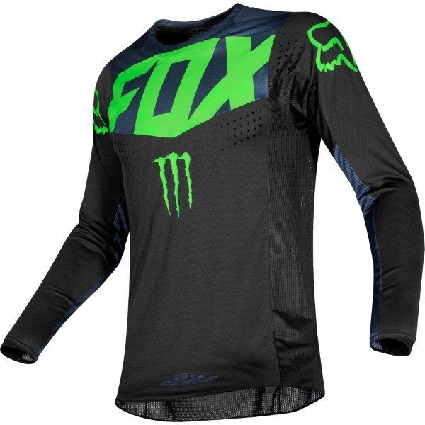 Fox 360 PC Black MX Jersey Front