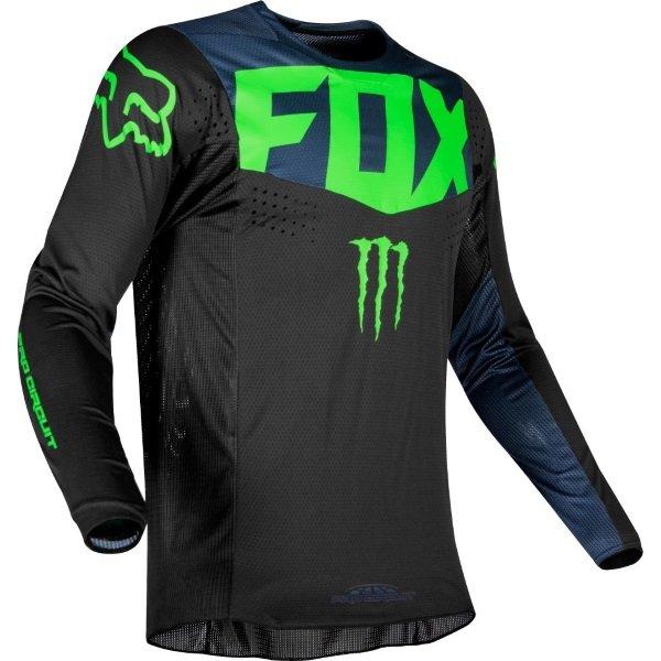 Fox 360 PC Black MX Jersey Side