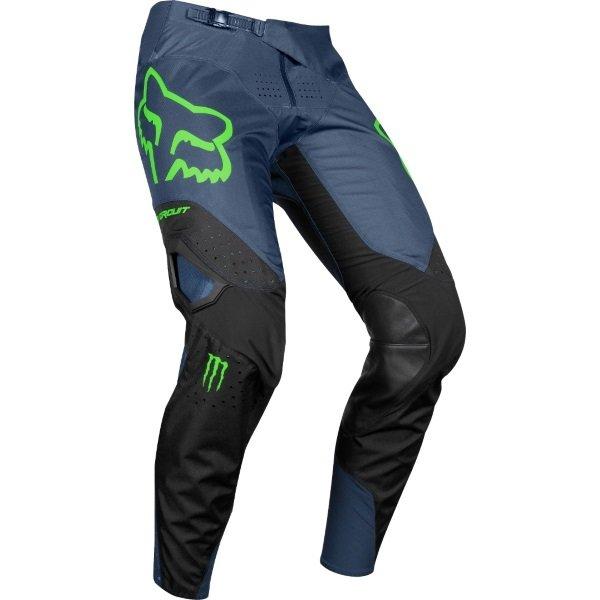 Fox 360 PC Black MX Pants Riding position