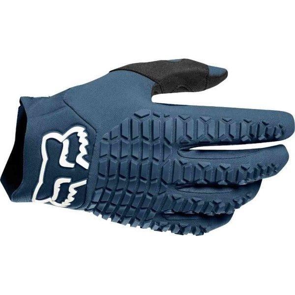 Fox Legion Navy Motocross Gloves Back