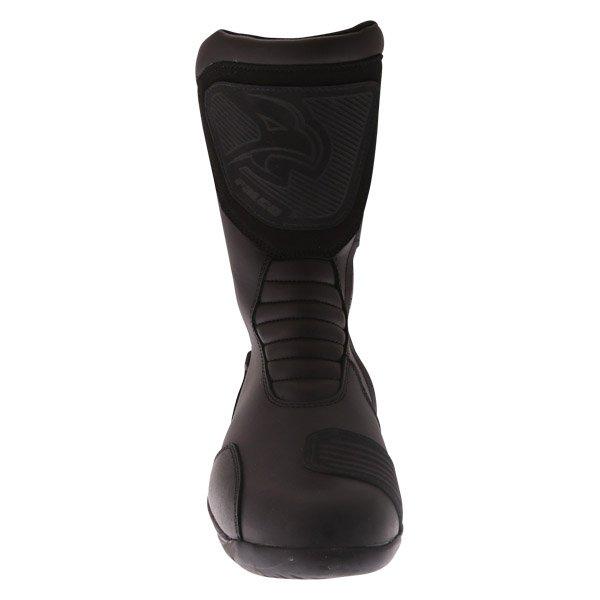 Falco Kodo 2 1 Black Motorcycle Boots Front