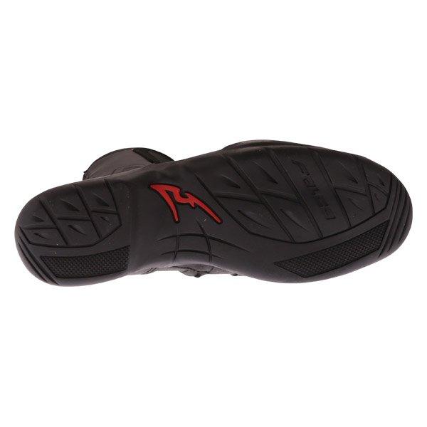 Falco Kodo 2 1 Black Motorcycle Boots Sole