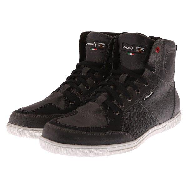 Falco Shiro 2 Pair Dark Grey Short Motocycle Boots