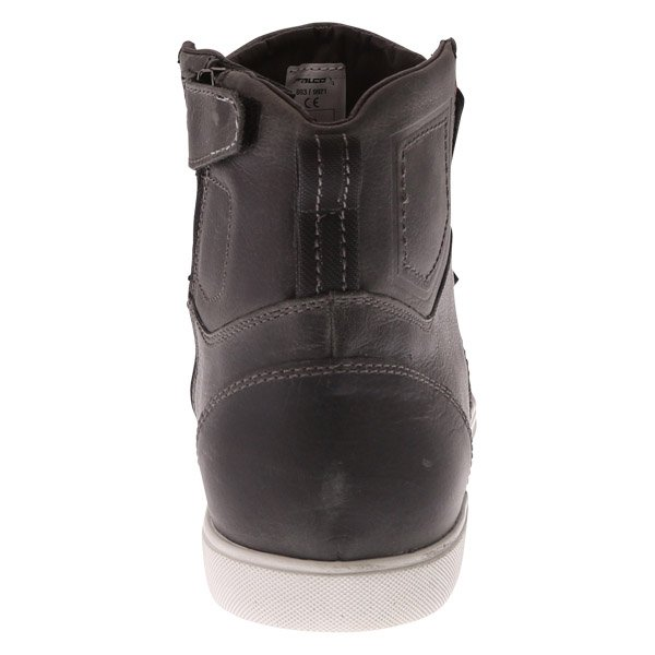 Falco Shiro 2 Dark Grey Short Motocycle Boots Heel