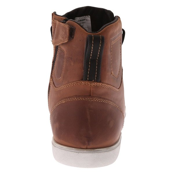 Falco Shiro 2 Brown Motorcycle Boots Heel