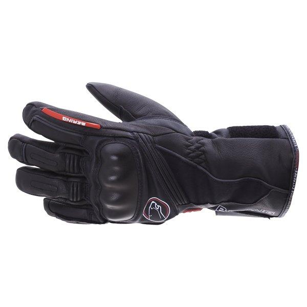 Bering Crezus Black Motorcycle Gloves Back