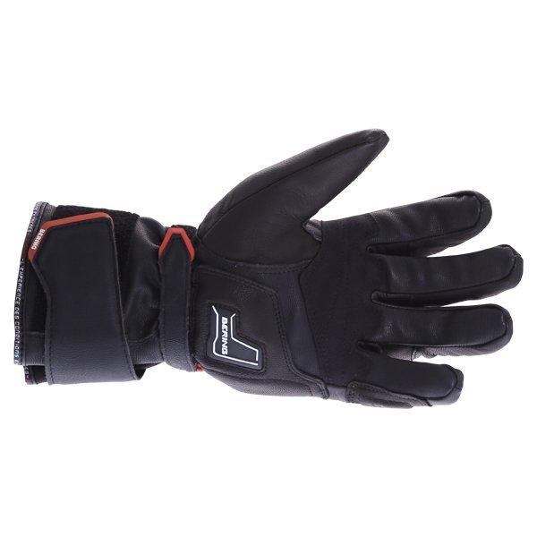 Bering Crezus Black Motorcycle Gloves Palm