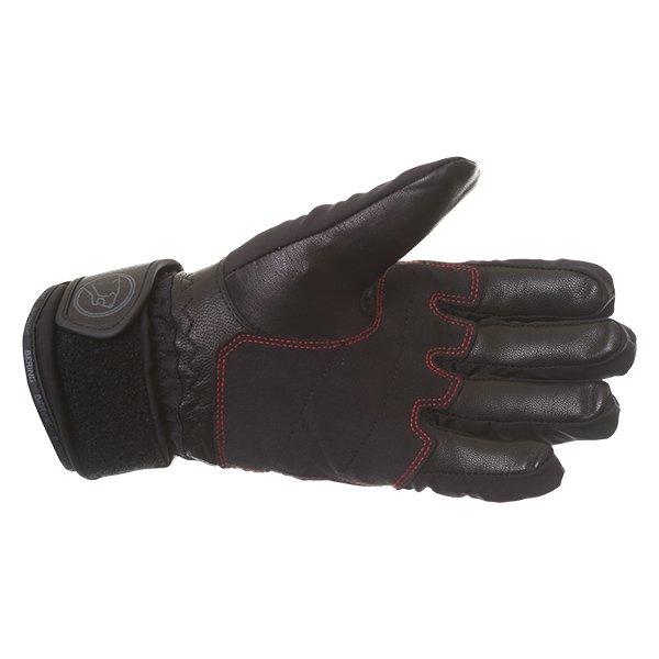 Bering Yucca Black Goretex Waterproof Motorcycle Gloves Palm