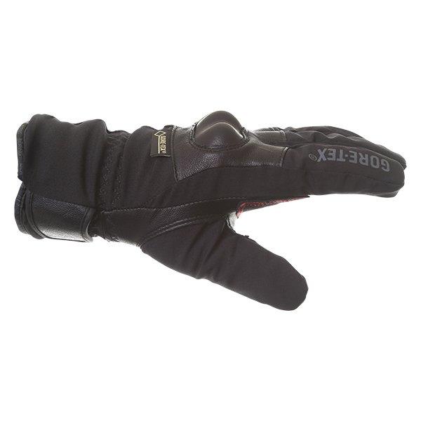 Bering Yucca Black Goretex Waterproof Motorcycle Gloves Thumb side