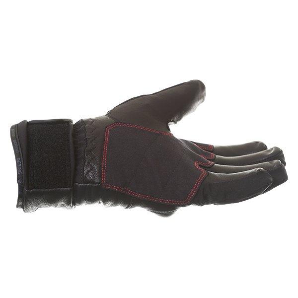 Bering Yucca Black Goretex Waterproof Motorcycle Gloves Little finger side