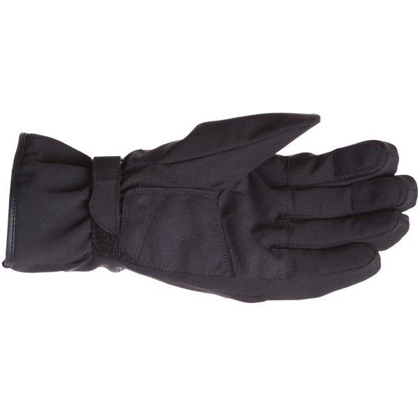 Bering Victor Black Motorcycle Gloves Palm