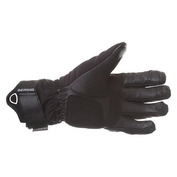 Bering Loky Goretex Black Waterproof Motorcycle Gloves Palm
