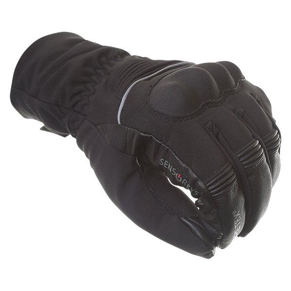 Bering Loky Goretex Black Waterproof Motorcycle Gloves Knuckle