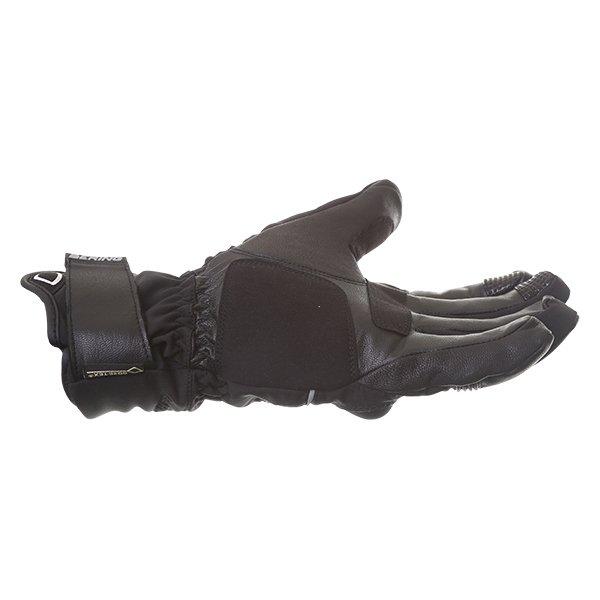 Bering Loky Goretex Black Waterproof Motorcycle Gloves Little finger side