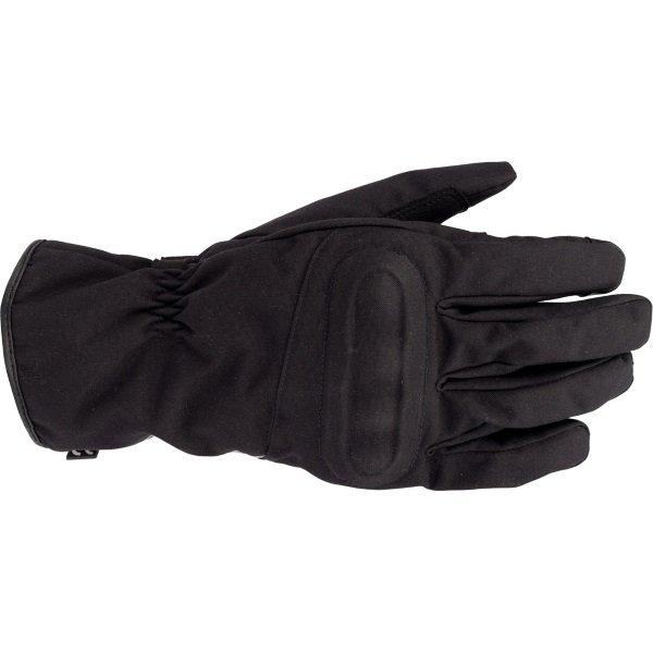 Bering Gloke Black Motorcycle Gloves Back