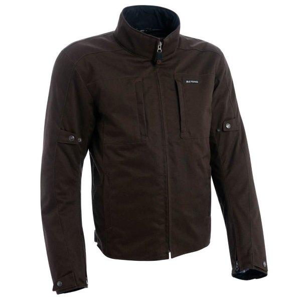 Bering Brody Brown Textile Motorcycle Jacket Front