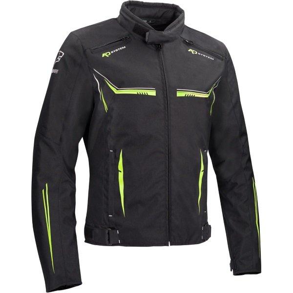 Ross Jacket Black Fluo Clothing