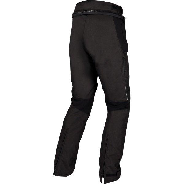 Bering Roller Black Textile Motorcycle Pants Rear