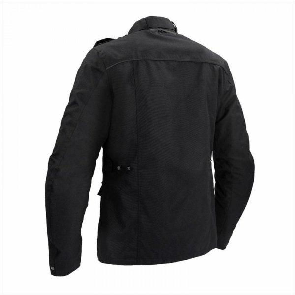 Bering Norris Black Motorcycle Jacket Back