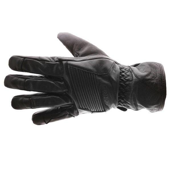 Bering Coltrane Black Motorcycle Gloves Back