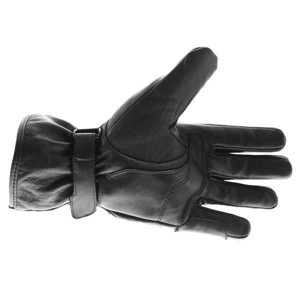Bering Coltrane Black Motorcycle Gloves Palm