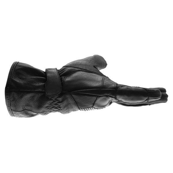 Bering Coltrane Black Motorcycle Gloves Little finger side